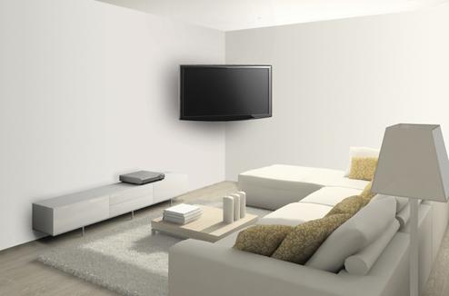 accrocher tv au mur