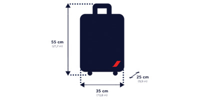 bagage cabine air france