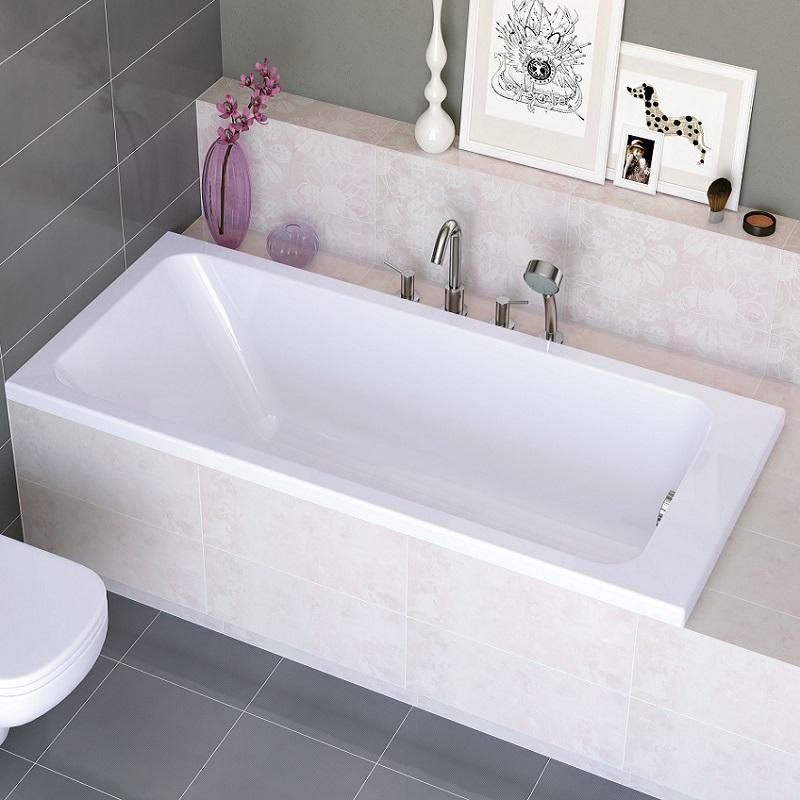 baignoire rectangulaire