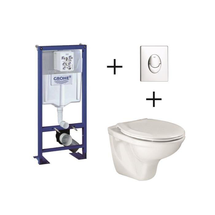 bati wc suspendu grohe