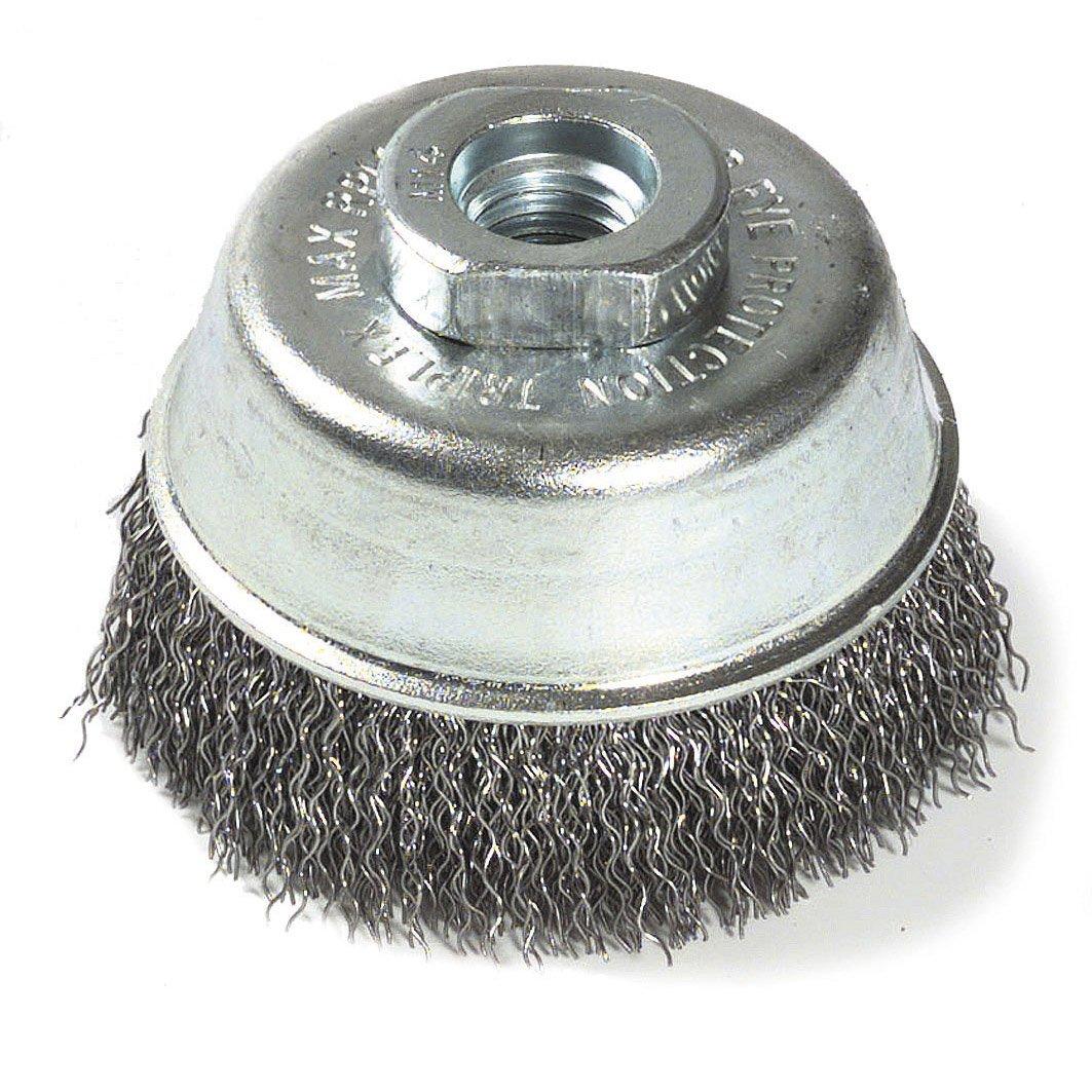 brosse métallique meuleuse