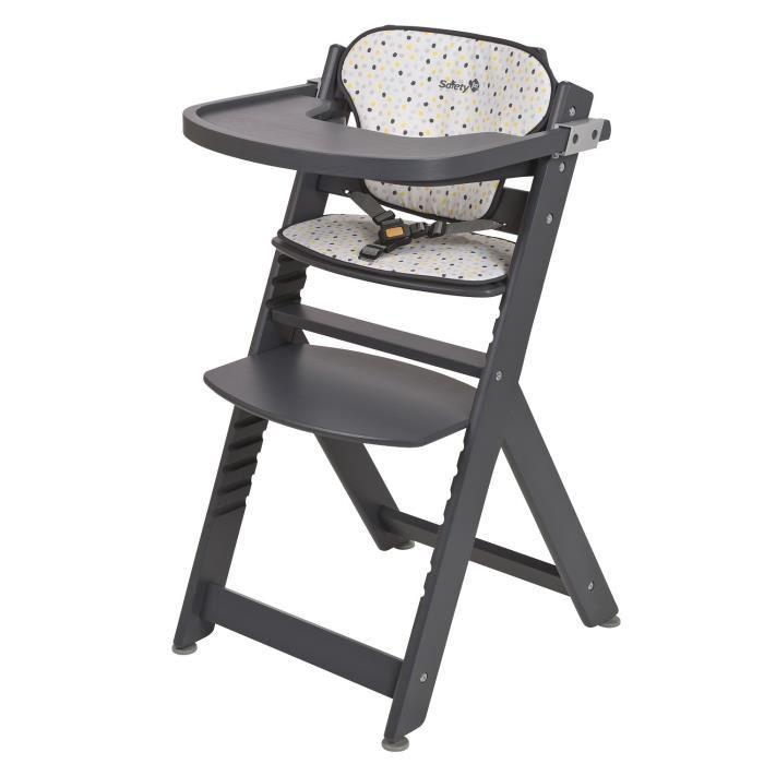chaise haute évolutive
