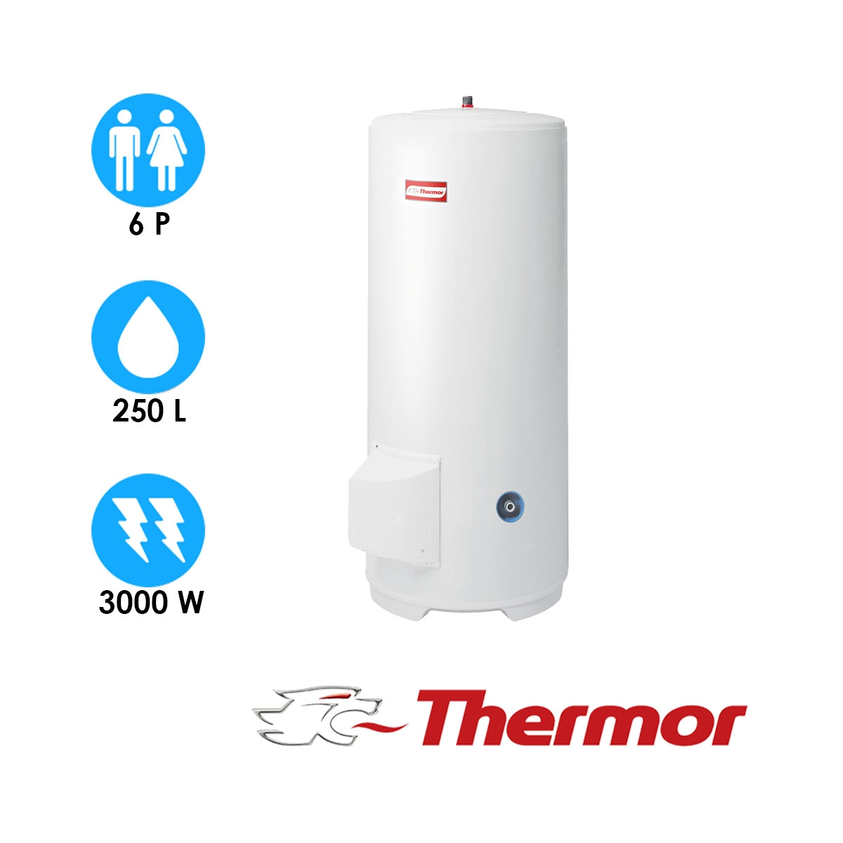 chauffe eau 250l
