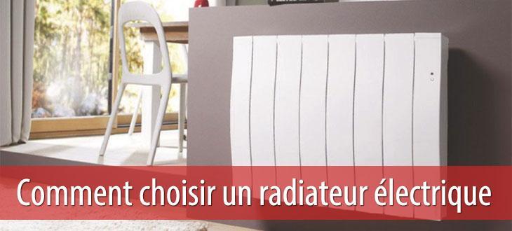 choisir son radiateur