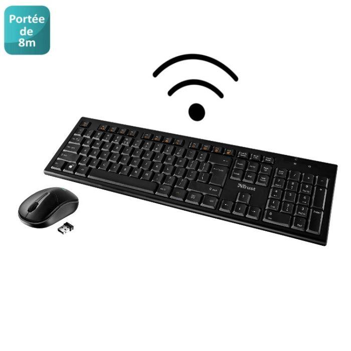 clavier souris sans fil