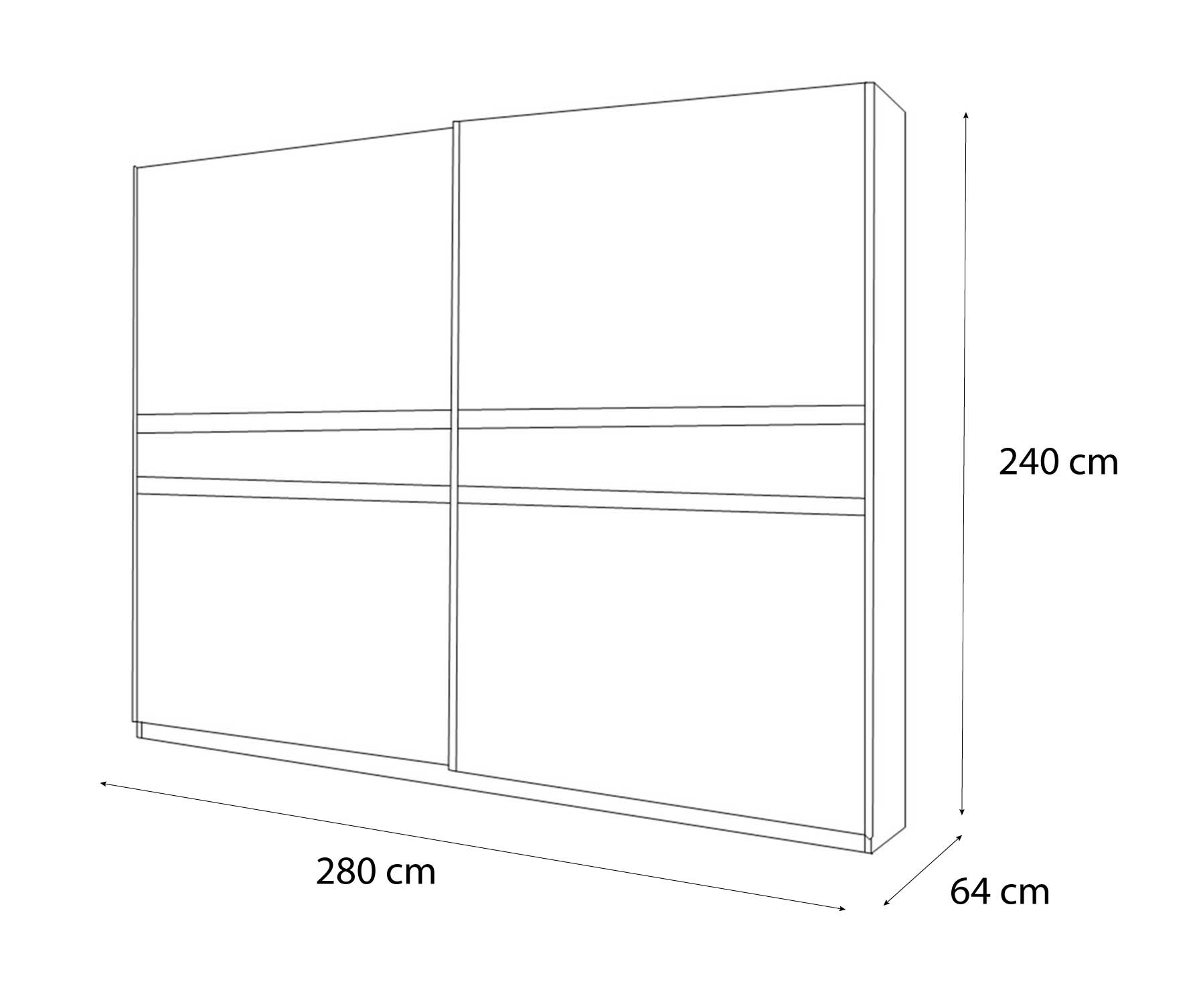 dimension armoire