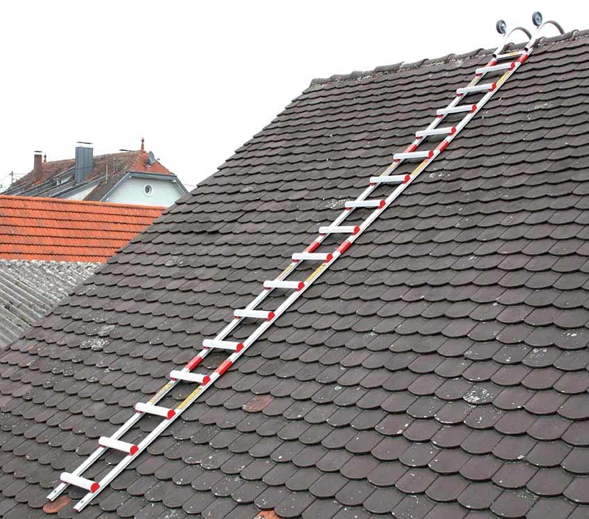echelle de toit alu