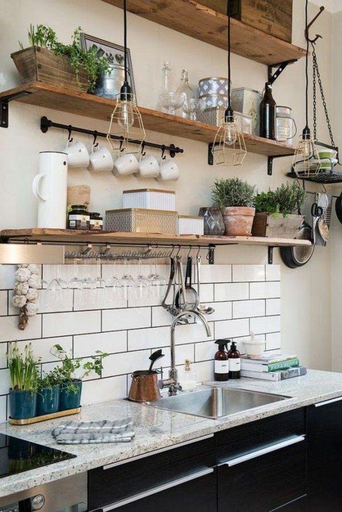 etagere murale cuisine