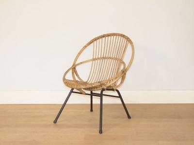 fauteuil osier