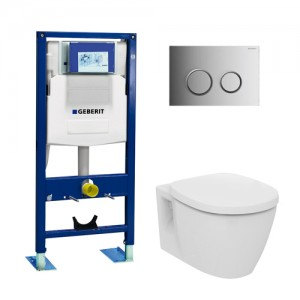 geberit wc suspendu