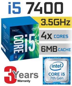 intel core i5 7400