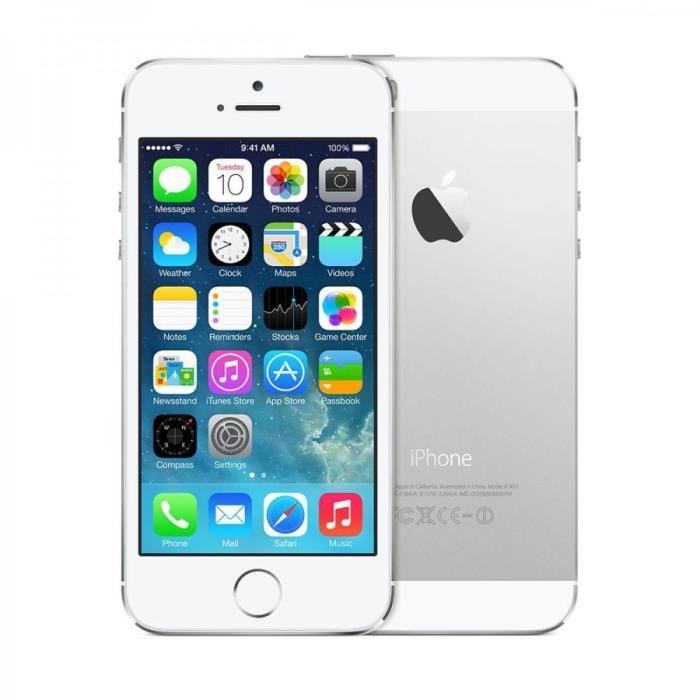 iphone 5s reconditionné