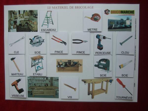 materiel bricolage