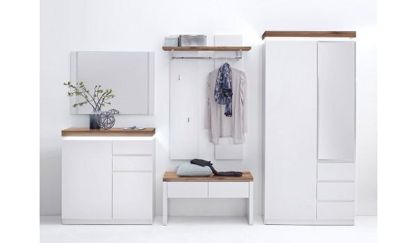 meuble d entrée blanc