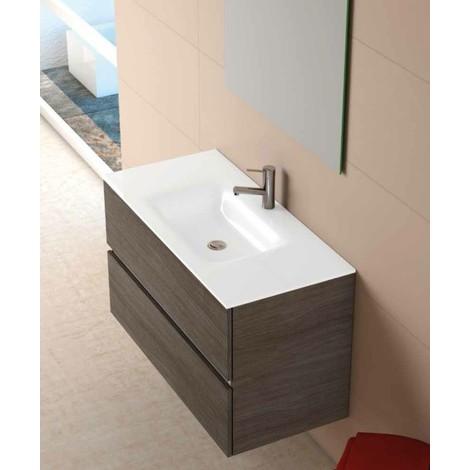 meuble suspendu salle de bain
