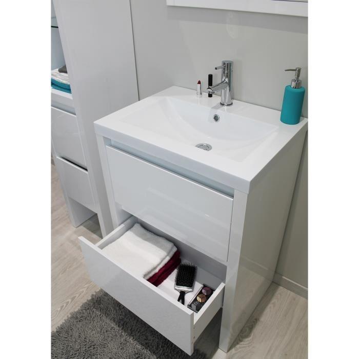 meuble vasque 60 cm
