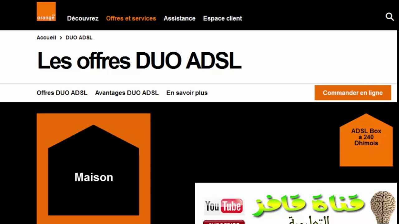offre orange adsl