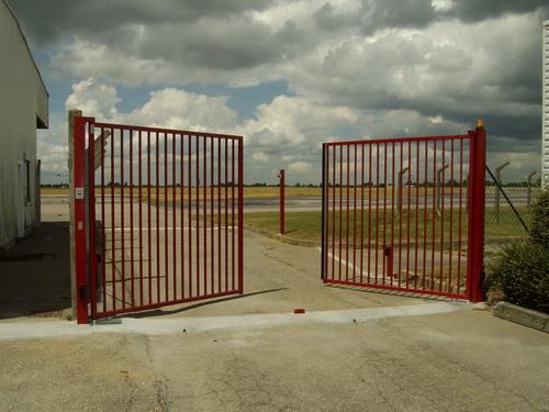 portail ouvert