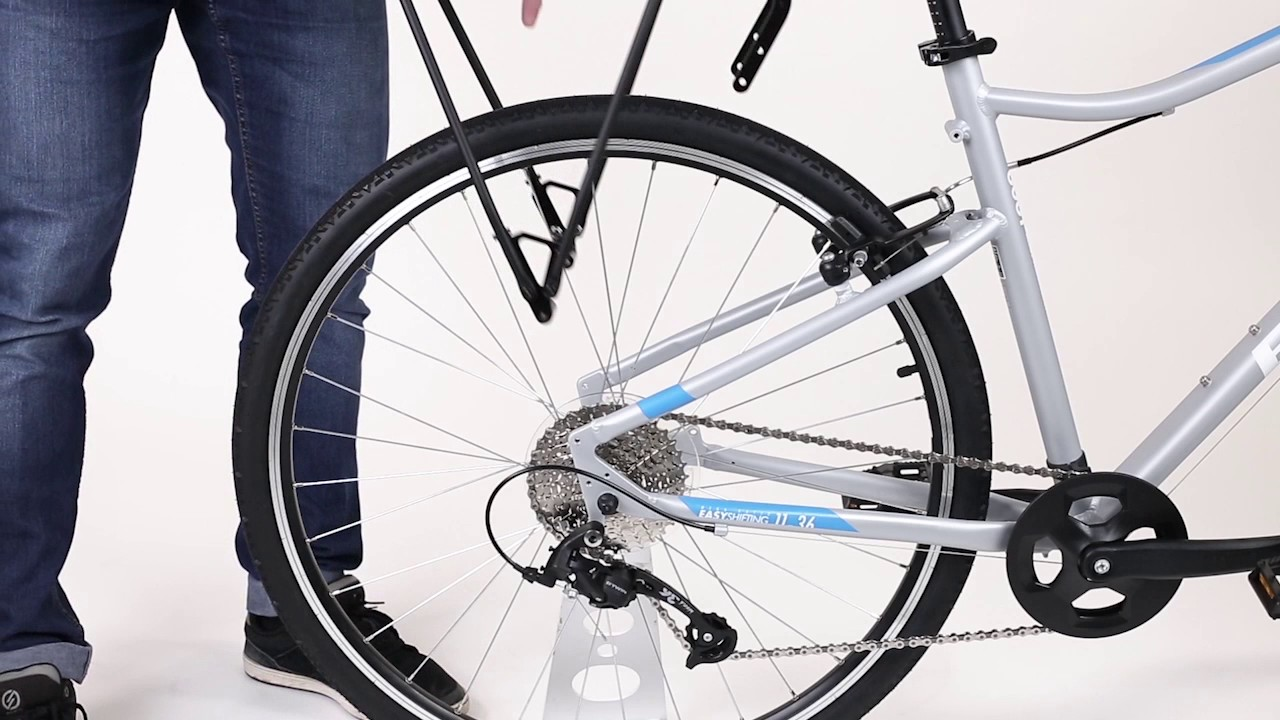 porte bagage btwin