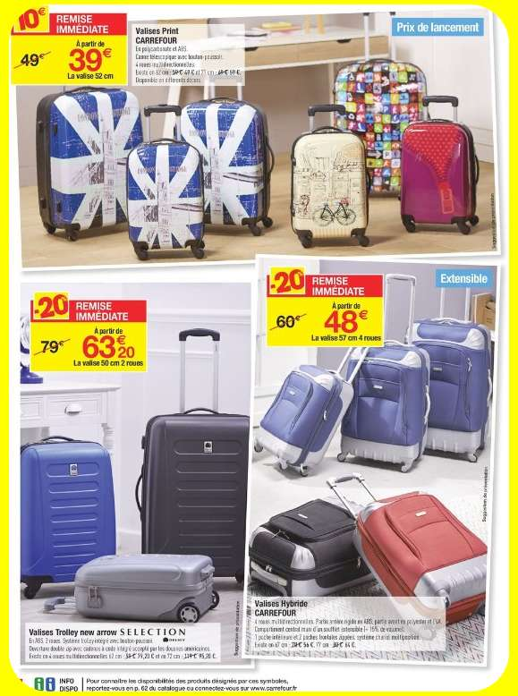 promo bagages