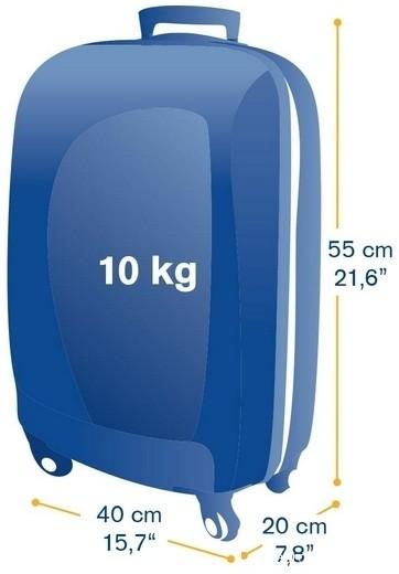sac cabine 55 40 20