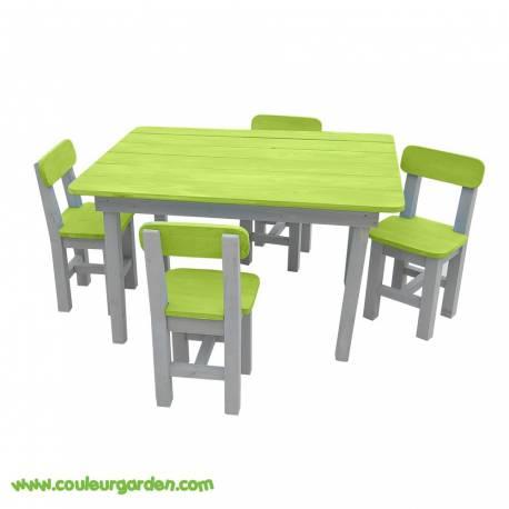 salon de jardin enfant