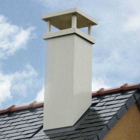 sortie de toit cheminée