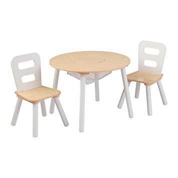 table enfant bois
