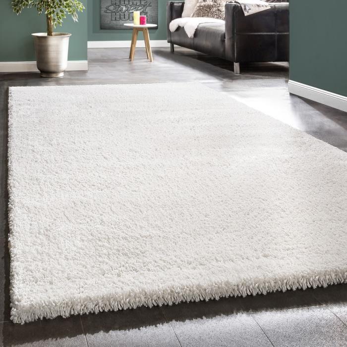 tapis blanc