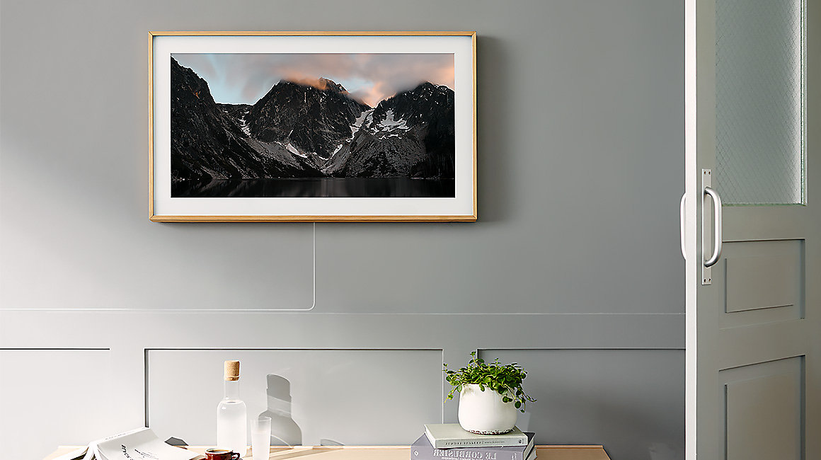 the frame
