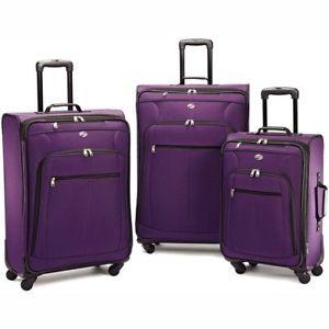american tourister purple