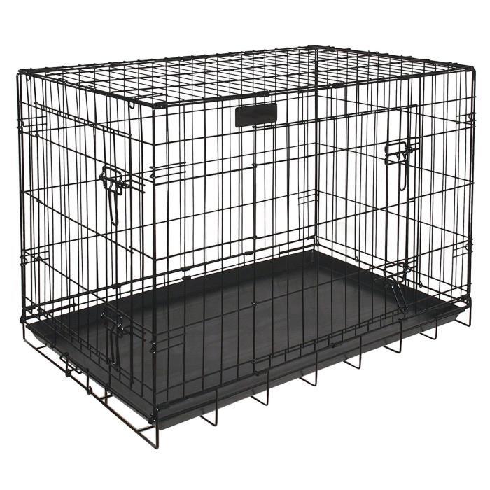 cage gros chien