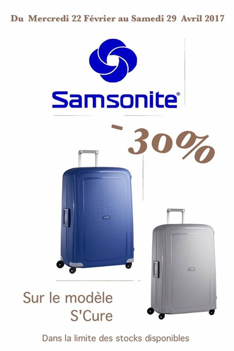 promo samsonite