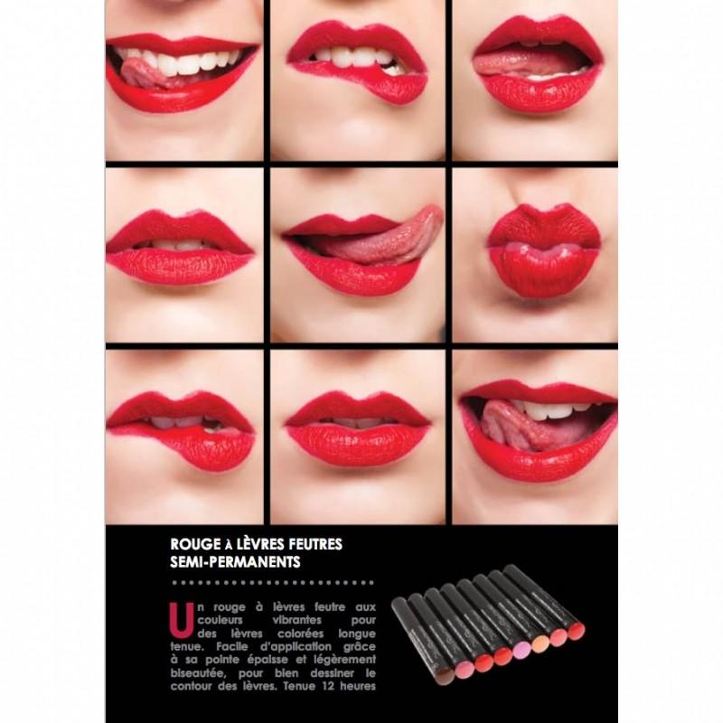 rouge à lèvres permanent