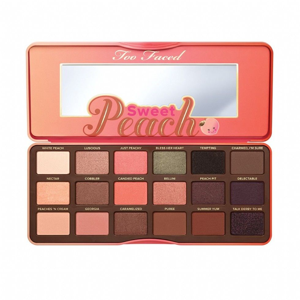 too faced sweet peach palette