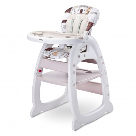 chaise haute 2 en 1