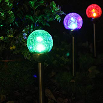 lampes solaires jardin