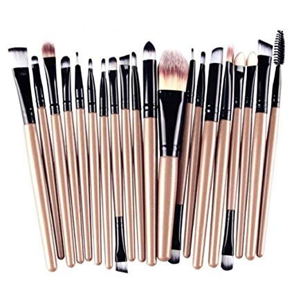 lot pinceau maquillage