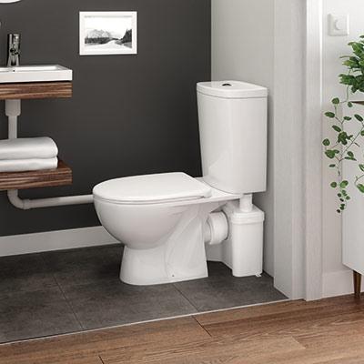toilette broyeur