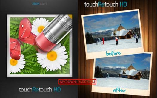 touch retouche